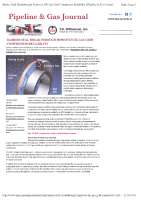 Barrier seal breakthrough improves UK gas grid compressor reliability