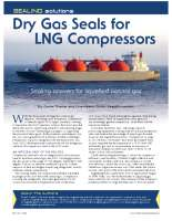 DGS for LNG compressors