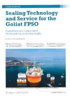 Sealing Technology and Service for the Goliat FPSO