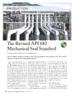 The Revised API 682 Mechanical Seal Standard