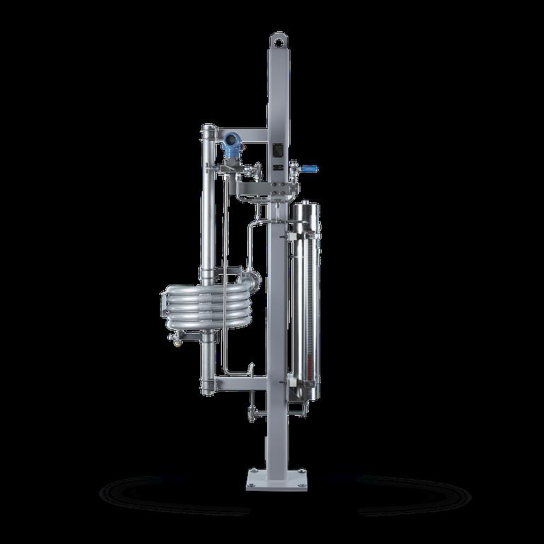 SPC6 Barrier fluid system <br/>with piston accumulator